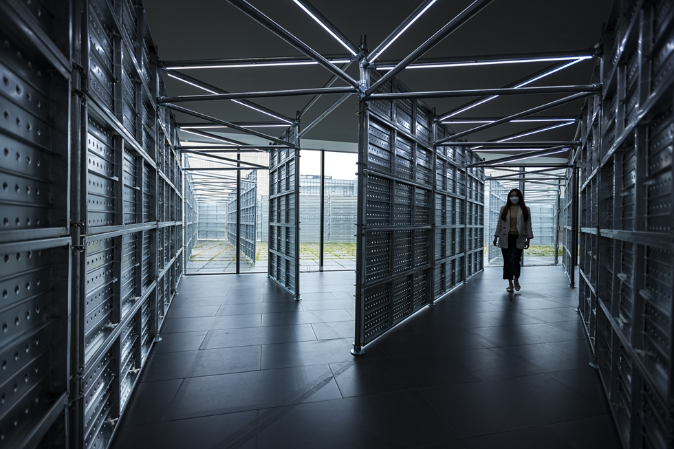 Candida Hofer's 'Kunstmuseum Basel IV' (1999) / Courtesy of MMCA and BILD-KUNST, Bonn - SACK, Seoul, 2021