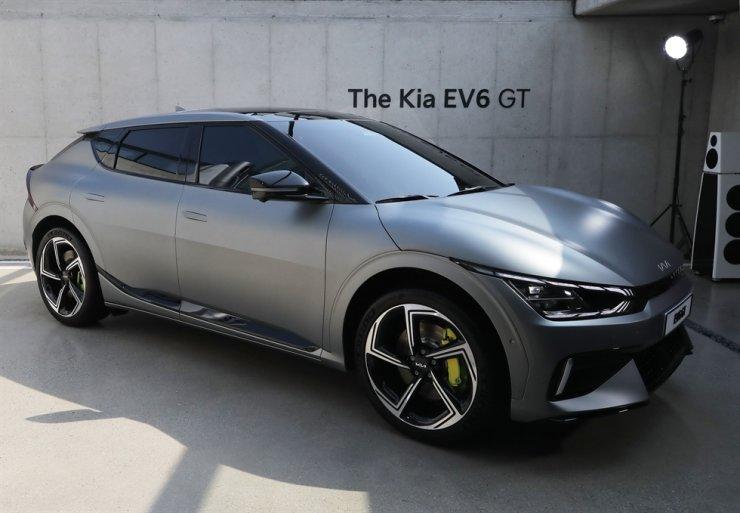 Kia EV6 GT / Yonhap
