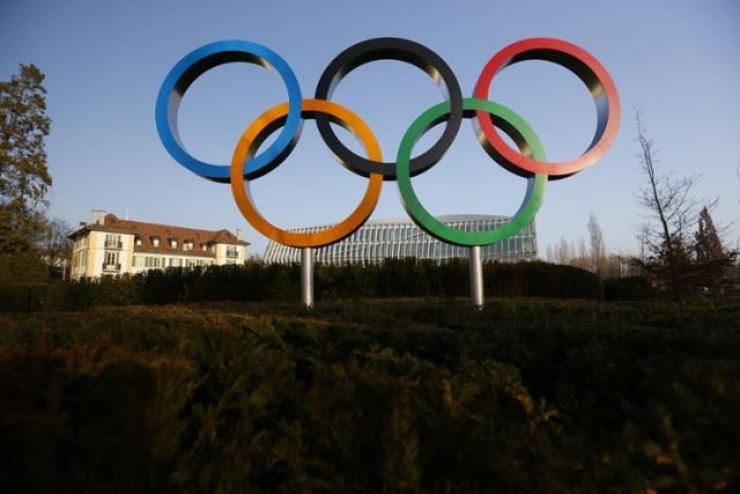 Olympic Rings / Yonhap