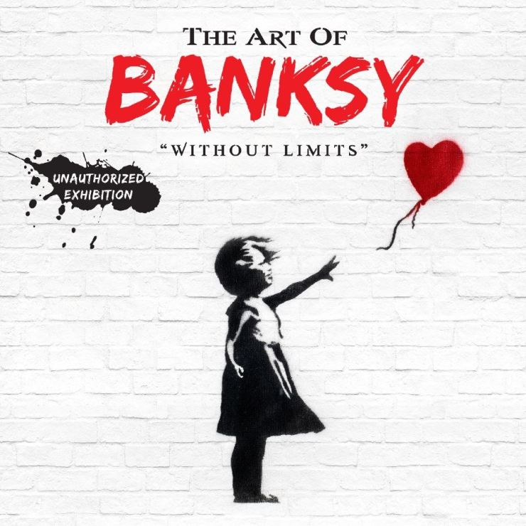 The exhibition, 'The Art of Banksy: Without Limits,' will be showcased for the first time in Asia from July 30 in Seongsu-dong, Seoul. Courtesy of The Art of Banksy