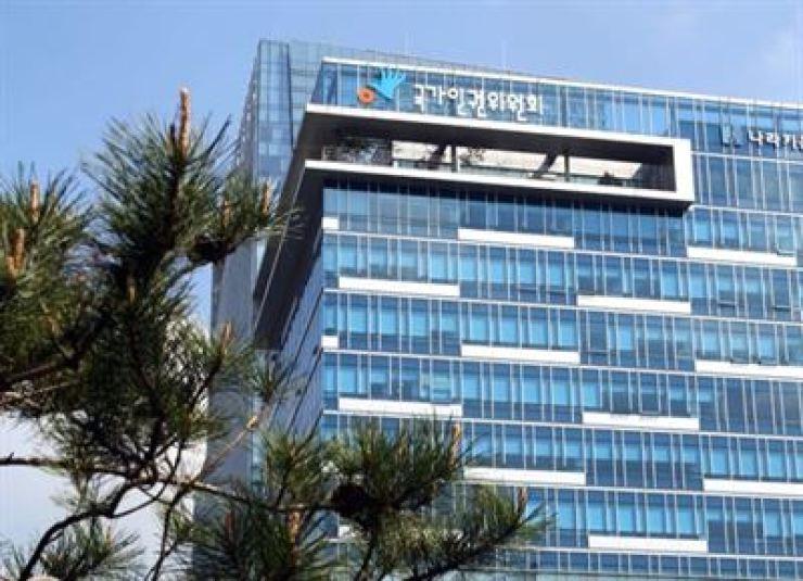 National Human Rights Commission of Korea headquarters / Korea Times file
