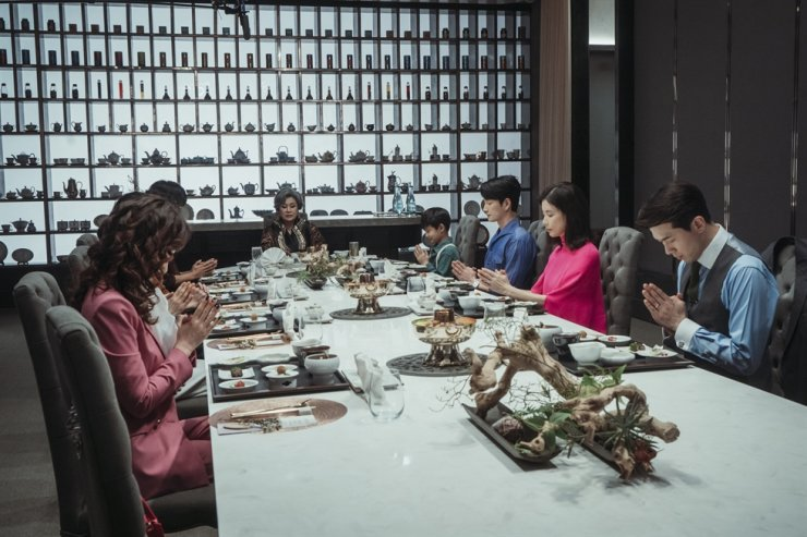 A scene from TV series 'Mine' / Courtesy of tvN