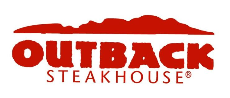 Outback Steakhouse corporate logo / Korea time file