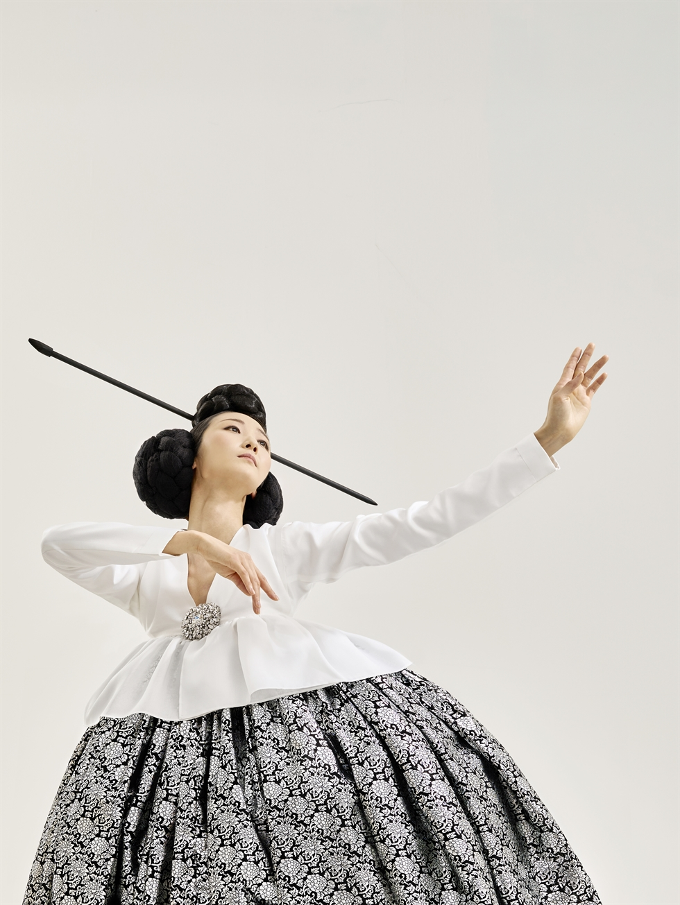 A scene from 'Sanjo' by the National Dance Company of Korea / Courtesy of National Dance Company of Korea