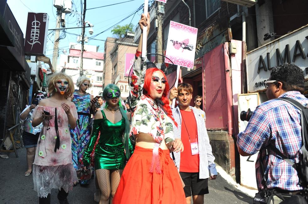 The poster for Seoul Drag Parade 2021 / Courtesy of Seoul Drag Parade