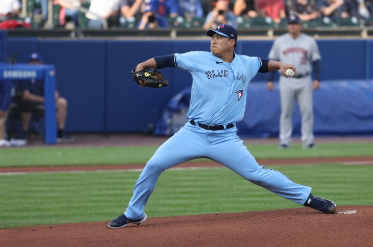 Toronto Blue Jays' pitcher Ryu Hyun-jin / Yonhap