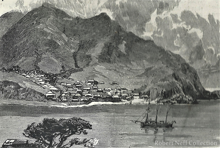 Geomundo (Port Hamilton) circa 1920. Robert Neff Collection