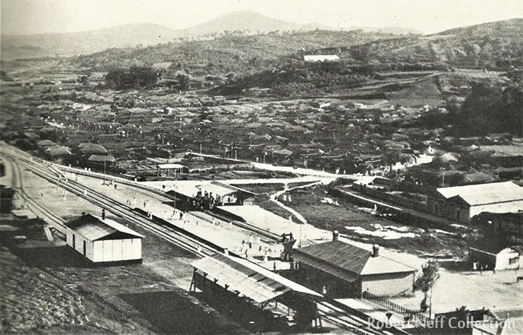 Yeongdeungpo Station, circa 1900 / Robert Neff Collection