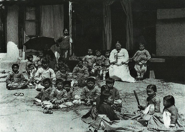Miss Perry's Home for Destitute Children in the early 1900s. Robert Neff Collection