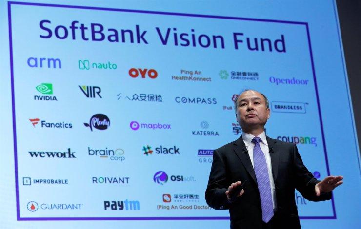 Japan's SoftBank Chief Executive Masayoshi Son attends a press conference in Tokyo, Nov. 5, 2018. Reuters-Yonhap