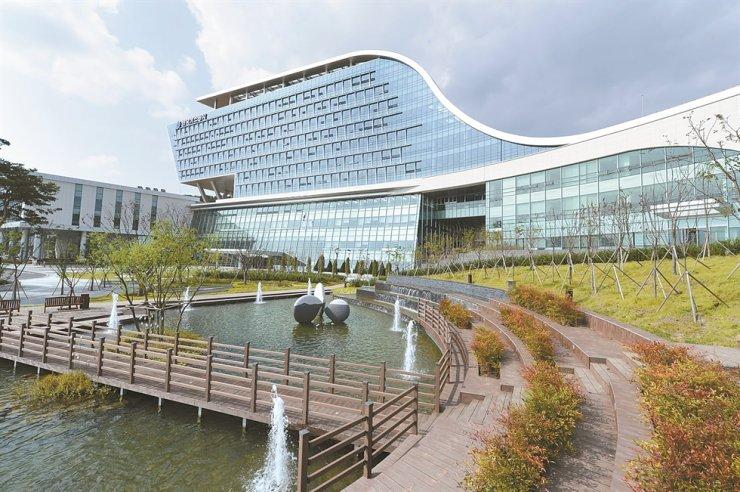 The headquarters of Korea Gas Corp. (KOGAS) in Daegu/ Courtesy of KOGAS
