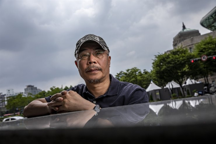 Lee Myung-se has directed the annual Seoul Eco Film Festival since 2018. Korea Times photo by Shim Hyun-chul