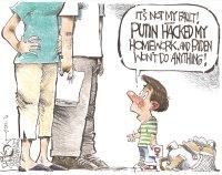 Putin hacked my homework