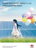 화웨이 지속가능성 보고서 표지 이미지 / 한국화웨이 제공