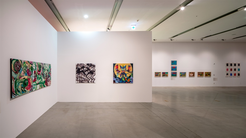 Installation view of the exhibition 'Shrunken Paper, Expanded World' at the Buk-Seoul Museum of Art in Nowon District, northeastern Seoul / Courtesy of SeMA