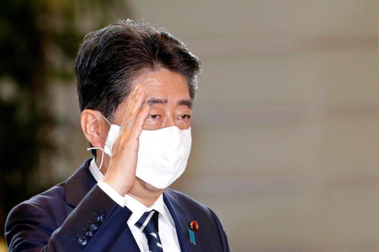 Japan's former Prime Minister Shinzo Abe / Reuters-Yonhap