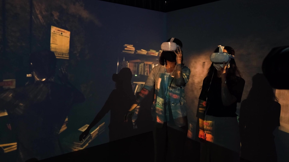 A scene from immersive VR content 'Parasite' / Courtesy of KOCCA