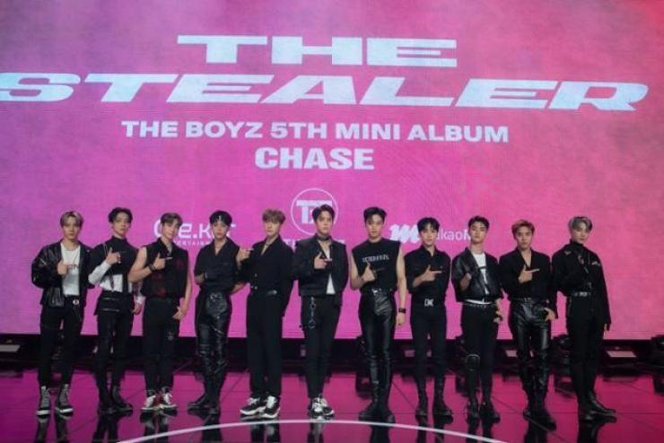 K-pop boy band The Boyz / Yonhap