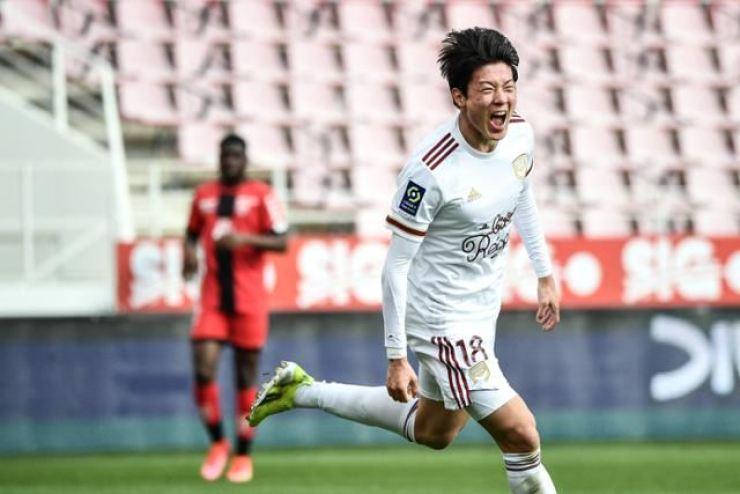 Korean men's Olympic football team forward Hwang Ui-jo / Yonhap