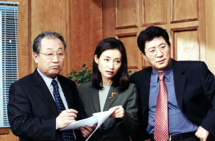 A scene from 'The Couples Clinic: Love And War' of which Season 1 ran from 1999 to 2008. Korea Times file