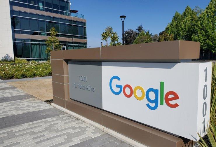 Google's headquarters in Calif., the U.S. Reuters-Yonhap