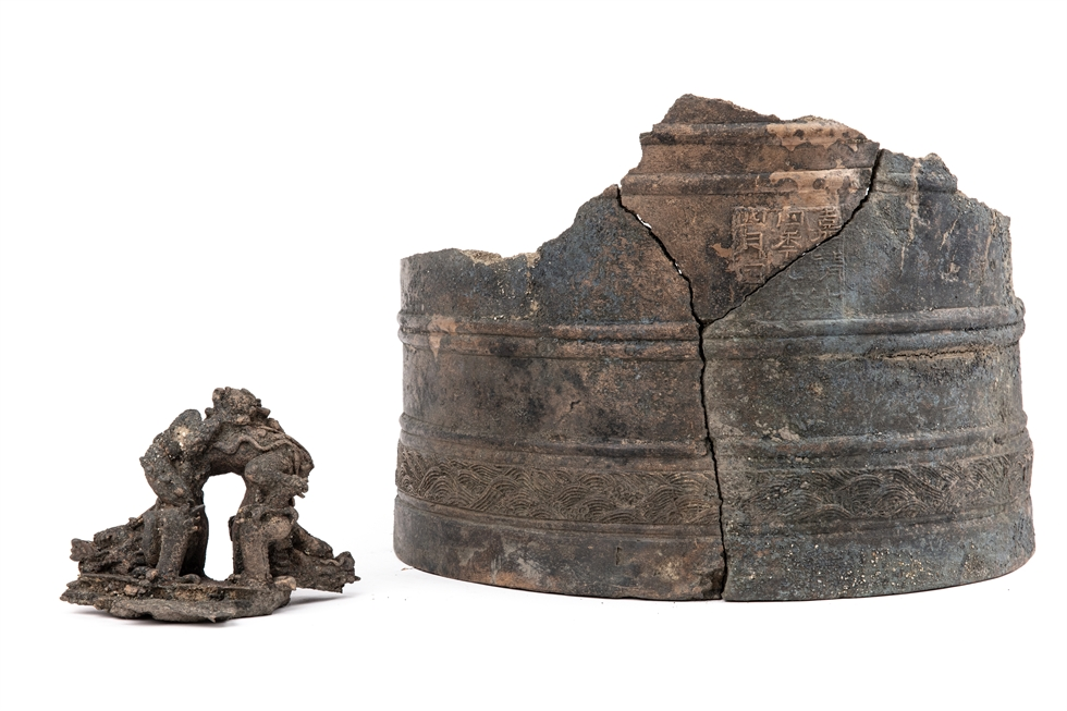 Movable metal type (printing) blocks were found inside a pot buried in the ground, along with other fragmented artifacts believed to be components for an automated water clock. Other relatively bigger relics were unearthed around the area, during an archaeological excavation expedition carried out in Insa-dong, central Seoul, from March to June, by the Sudo Research Institute of Cultural Heritage. The excavated artifacts are estimated to have been produced during the 1392-1910 Joseon Kingdom. Courtesy of Cultural Heritage Administration
