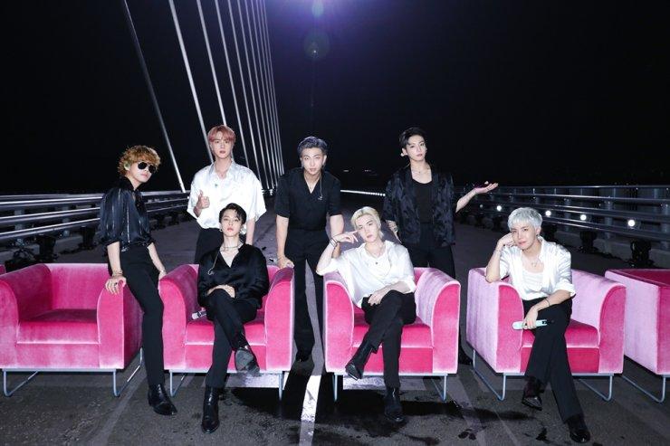 BTS / Yonhap