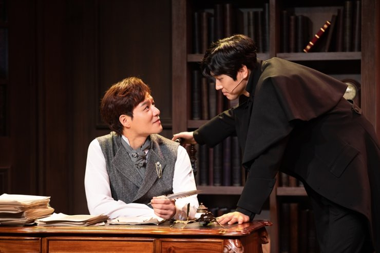The musical 'The Adventure of the Final Problem' will be livestreamed on Welcome Daehakro's YouTube channel as well as on the mainland Chinese travel platform, Mafengwo, at 8 p.m. Friday (KST). Courtesy of Korea Tourism Organization