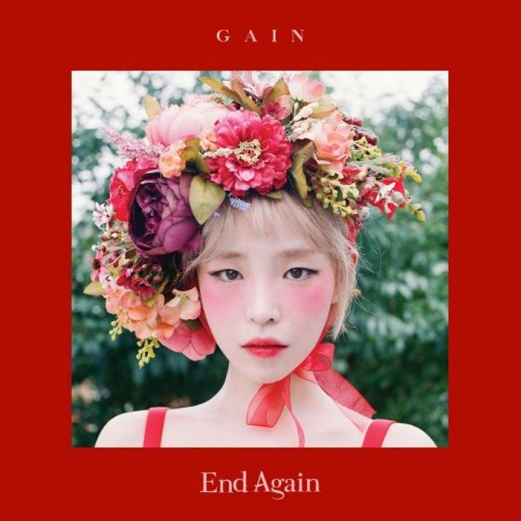 Gain of K-pop act Brown Eyed Girls / Courtesy of Mystic Story