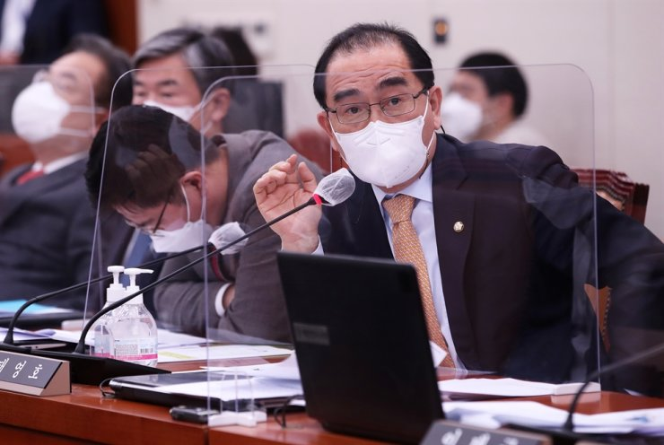 Rep. Tae Yong-ho of the conservative main opposition People Power Party / Korea Times file