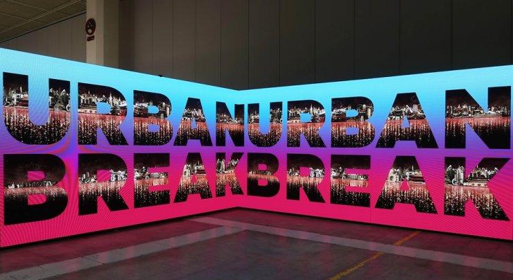 Installation view of the Urban Break Art Asia fair held last November / Courtesy of Urban Break Committee