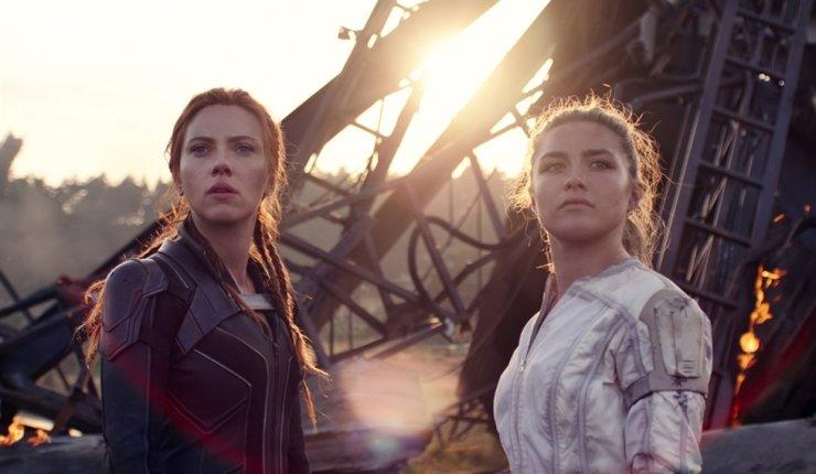 'Black Widow' surpassed 2.3 million ticket sales, Thursday. Courtesy of Walt Disney Co. Korea