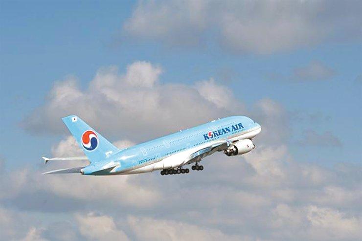 Korean Air's A380 passenger plane / Courtesy of Korean Air