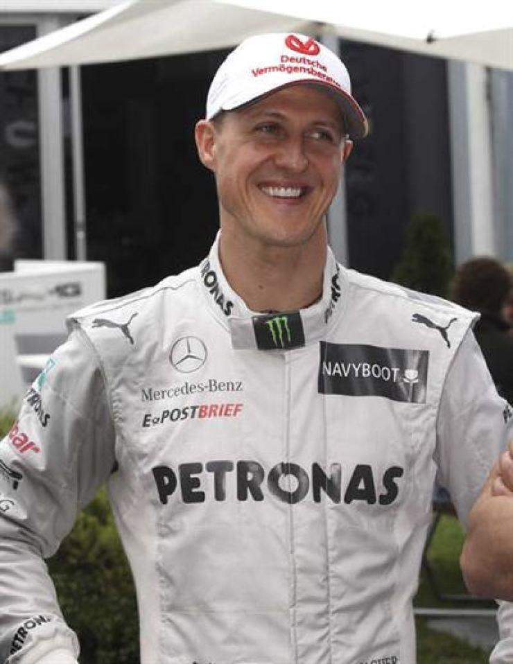 Seven-time Formula One world champion Michael Schumacher / AP-Yonhap