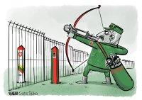 Lukashenko and EU border