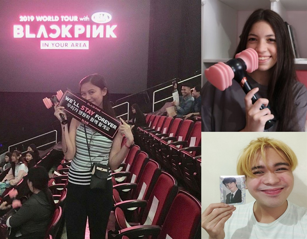 Art by fans of BLACKPINK and members of Kpop4Planet send the message that the Earth under the threat of climate change must be saved together by fans and their idols. Courtesy of Climate Media Hub