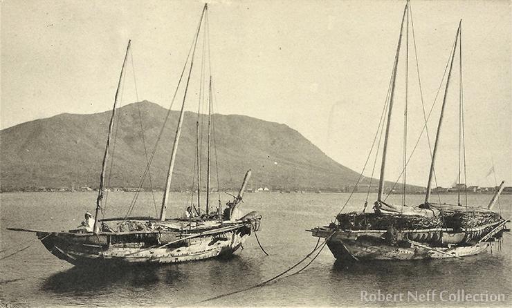 The river port of Yongsan, circa the 1900s. Robert Neff Collection