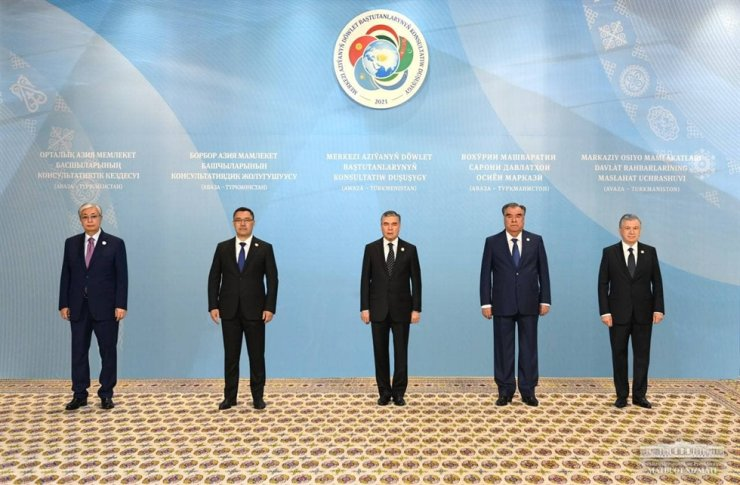 Consultative Meeting of the Heads of Central Asian States in Turkmenistan, August 2021 / Courtesy of Embassy of Uzbekistan in Korea
