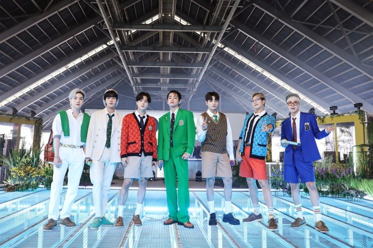 K-pop boy group BTS / Courtesy of Big Hit Music