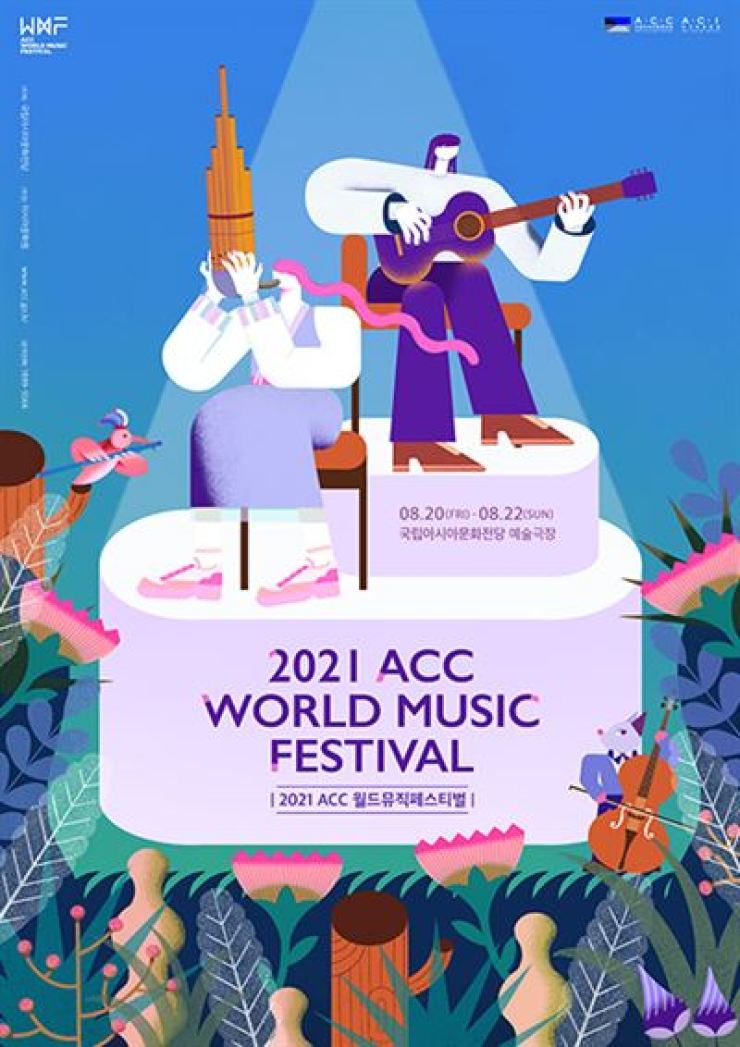 Poster for 2021 ACC World Music Festival / Courtesy of Asia Culture Center
