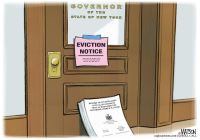 Governor Cuomo eviction notice