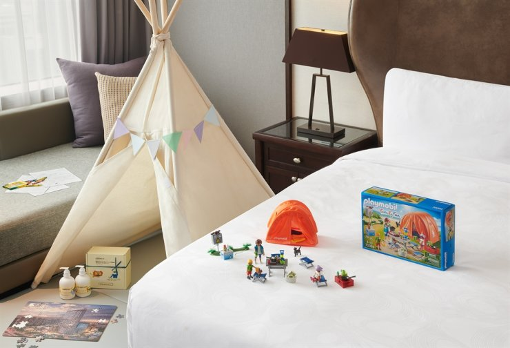 JW Marriott Hotel Seoul presents the 'Family by JW' package for families with children. Courtesy of JW Marriott Hotel Seoul