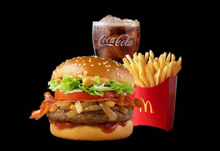 McDonald's hamburger menu set / Korea Times file