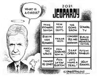 Jeopardy new hosts circus