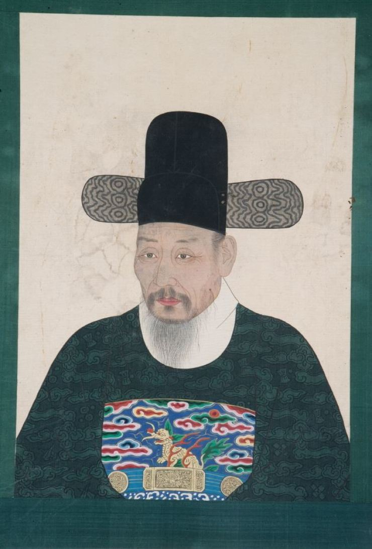 'Portrait of Lee Sam' (1751) / Courtesy of the Hampyeong Lee Family