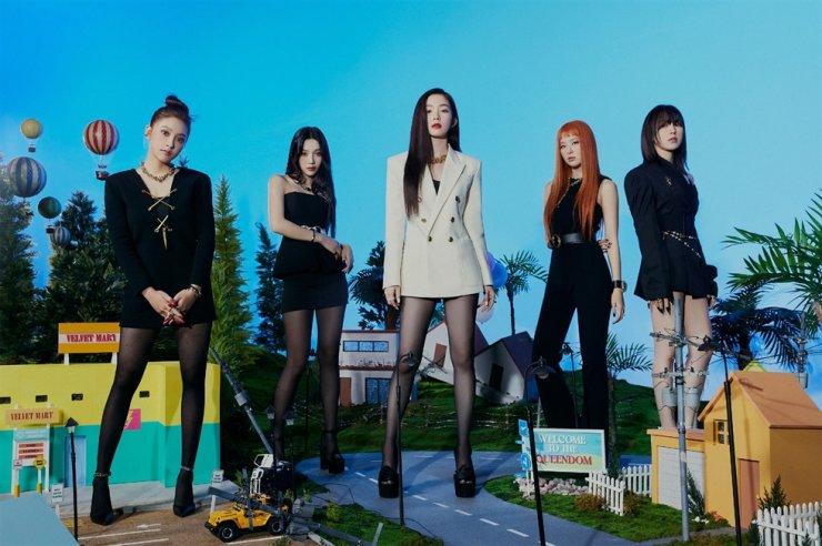 Teaser image for Red Velvet's new album 'Queendom' / Courtesy of SM Entertainment