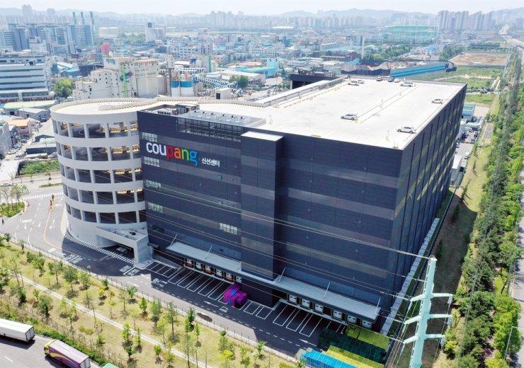 Coupang's fulfilment center in Bucheon, Gyeonggi Province / Yonhap