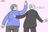 Merkel's last Moscow visit