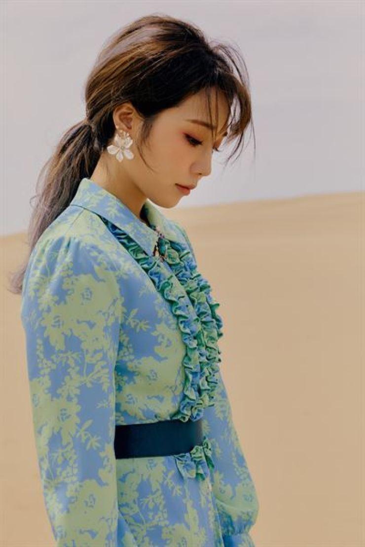 Apink member Jeong Eun-ji / Courtesy of Play M Entertainment