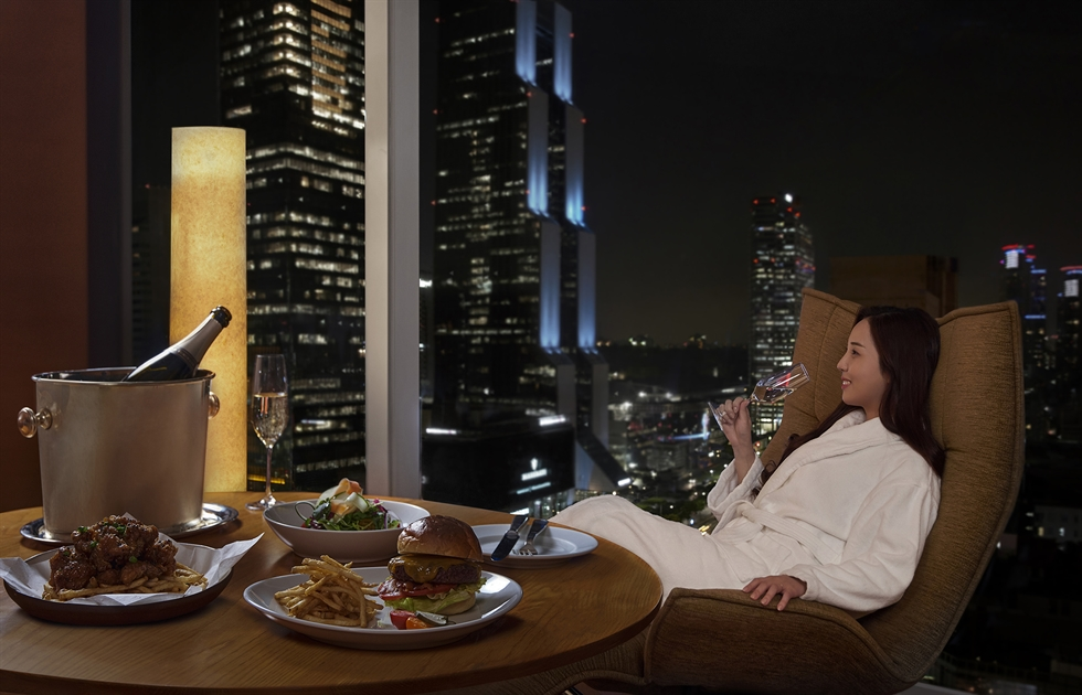 The Four Seasons Hotel Seoul presents the '24-hour weekday special' package that allows guests to stay for up to 24 hours after check-in. Courtesy of the Four Seasons Hotel Seoul